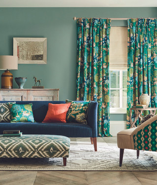 20% off selected fabrics, wallpapers and paints - plus free delivery*!
