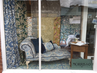 Morris & Co Melsetter Window Display