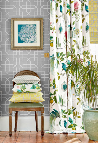 Sanderson Glasshouse Fabrics and Wallpapers Collection