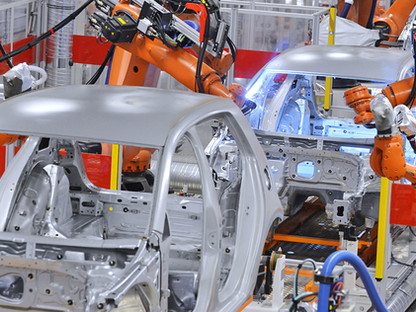 La industria de fabricación automotriz con productos Autonics