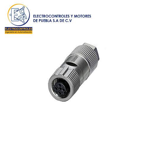 Conector enchufable de sensores-actuadores - SACC-FS-4QO-0,75 SH SCO - 1413994