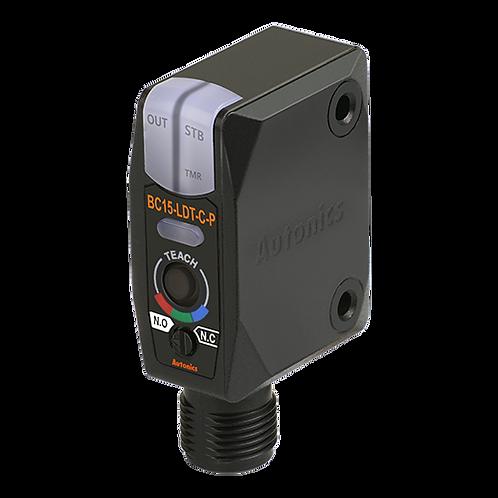 Sensor de color tipo reflectivo convergente BC15-LDT-C-P