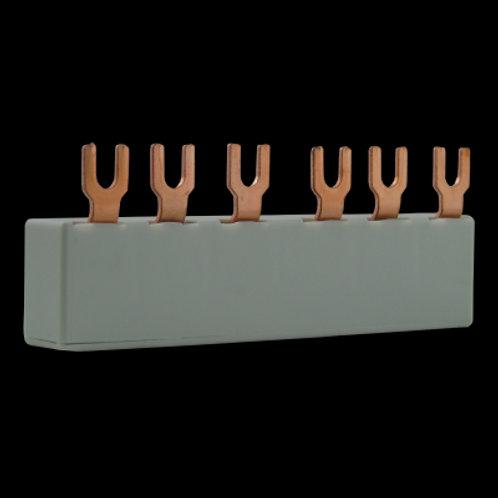 Busbar sin bloque de contacto auxiliar G45-14-2