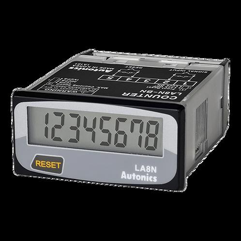 Contador totalizador LCD LA8N-BN