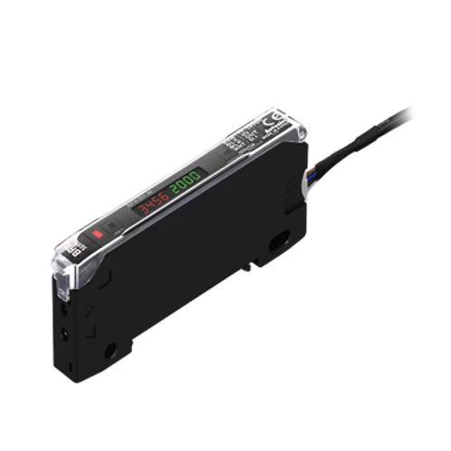 Sensor de fibra óptica con doble display BFX-D1-N
