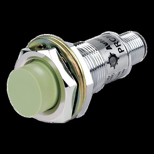 Sensor de proximidad tipo conector cilíndrico distancia de sensado PRCM18-8DN