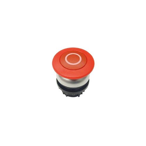Botón pulsador con forma de seta M22-DP-R-X0