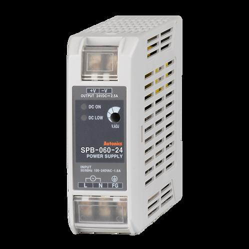 Tipo de montaje en riel DIN SPB-060-24