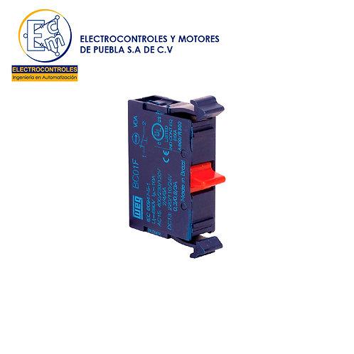 BLOQUE DE CONTACTO NO PACK DE 10 BC10F-CSW X10