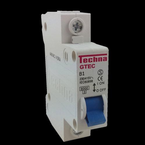 Interruptor MCB 1B125