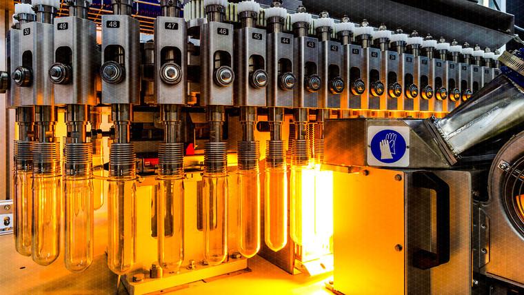 automatización a maquina de molde de sop