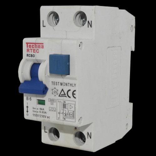 Interruptor de Corriente RTECX62C06030