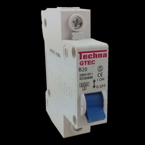 Interruptor MCB 1B20