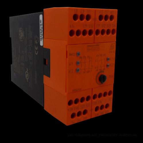 Relevador paro de emergencia y compuerta de seguridad 56924