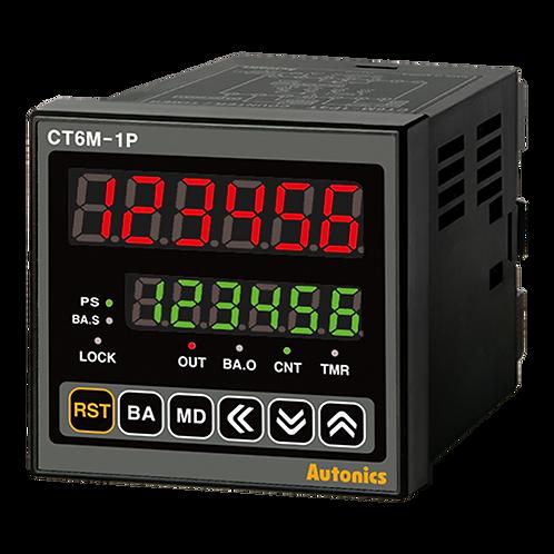 Contador/temporizador CT6M-1P4