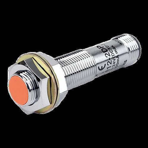 Sensor de proximidad tipo conector cilíndrico distancia de sensado PRCM12-2DP