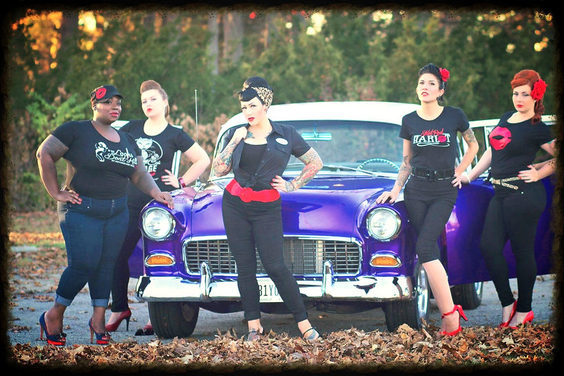rockabilly rebels pinups redlips womens apparel classic car