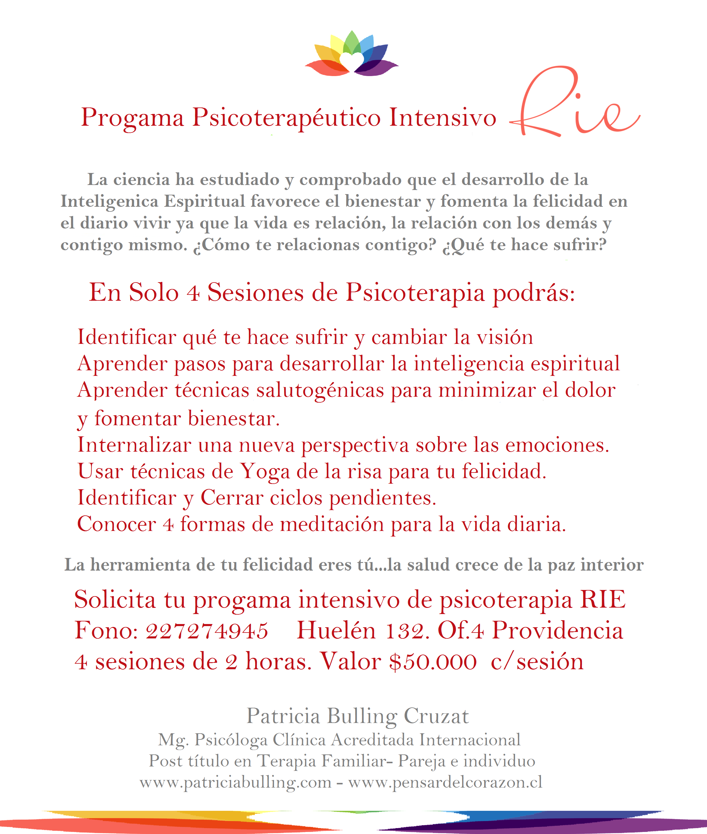 PROGRAMA PSICOTERAPIA RIE