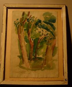 Fournier Quatre arbres 1917