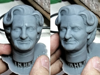 1/6 Mrs. Doubtfire - low res test print