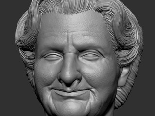 1/6 Mrs. Doubtfire - work in progress