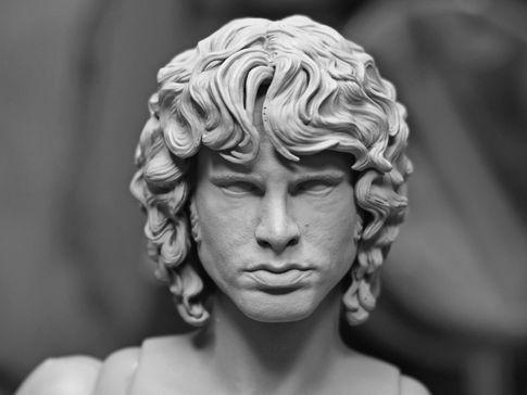 Jim Morrison Test Print