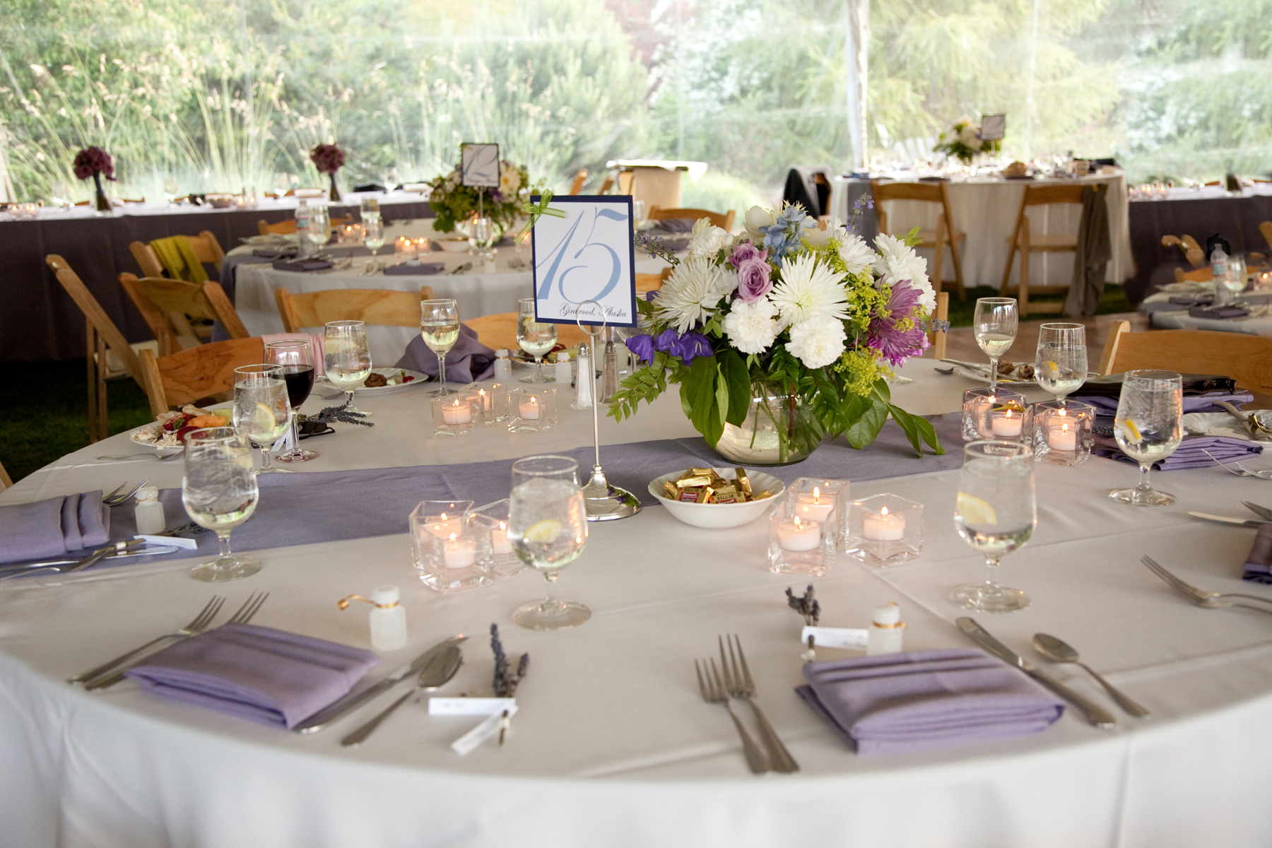 Lavender Summer Wedding