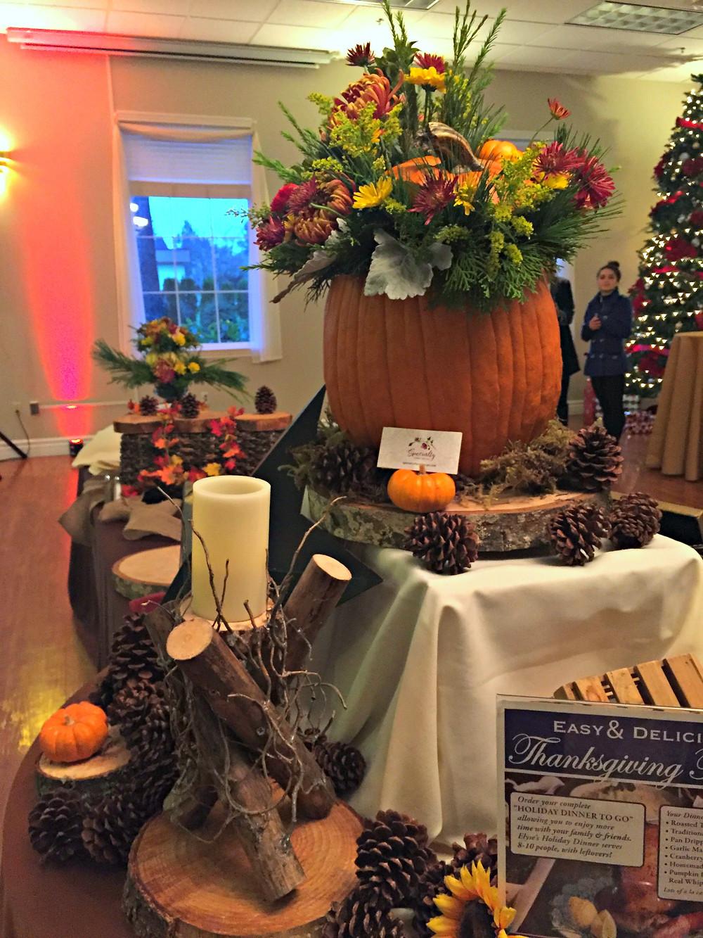 Harvest Table Display