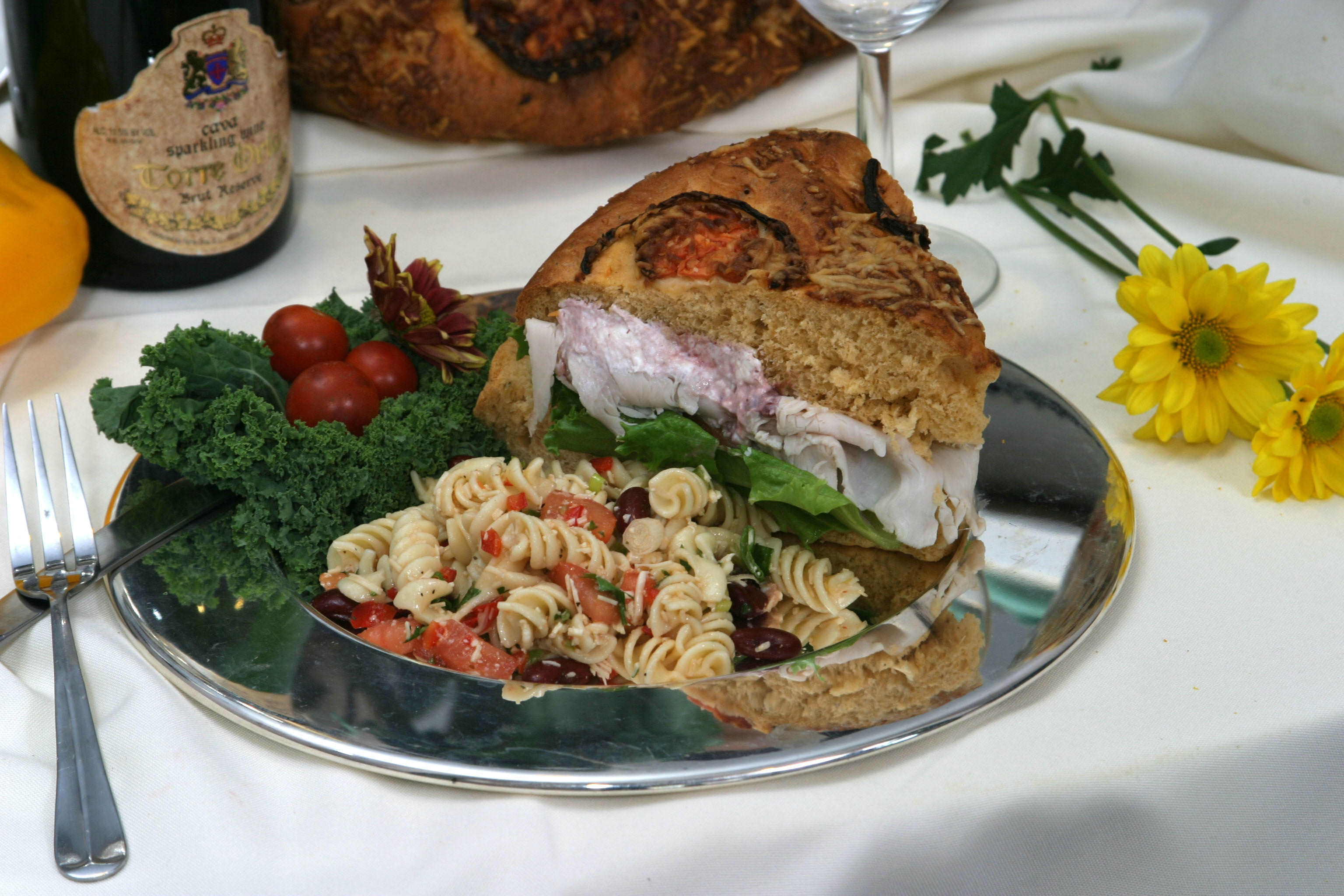 Focaccia Sandwich Plate