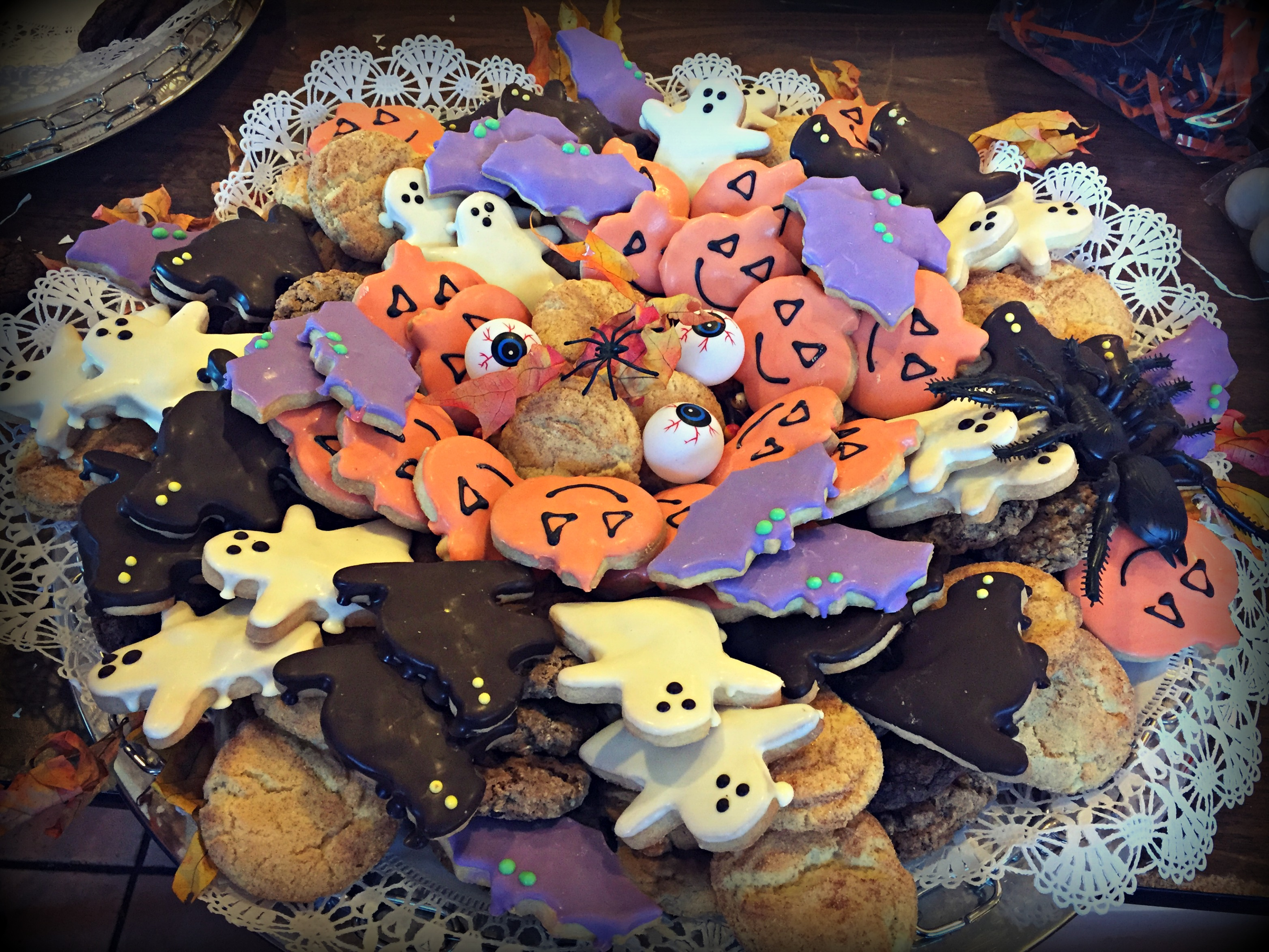 Halloween Cookie Tray