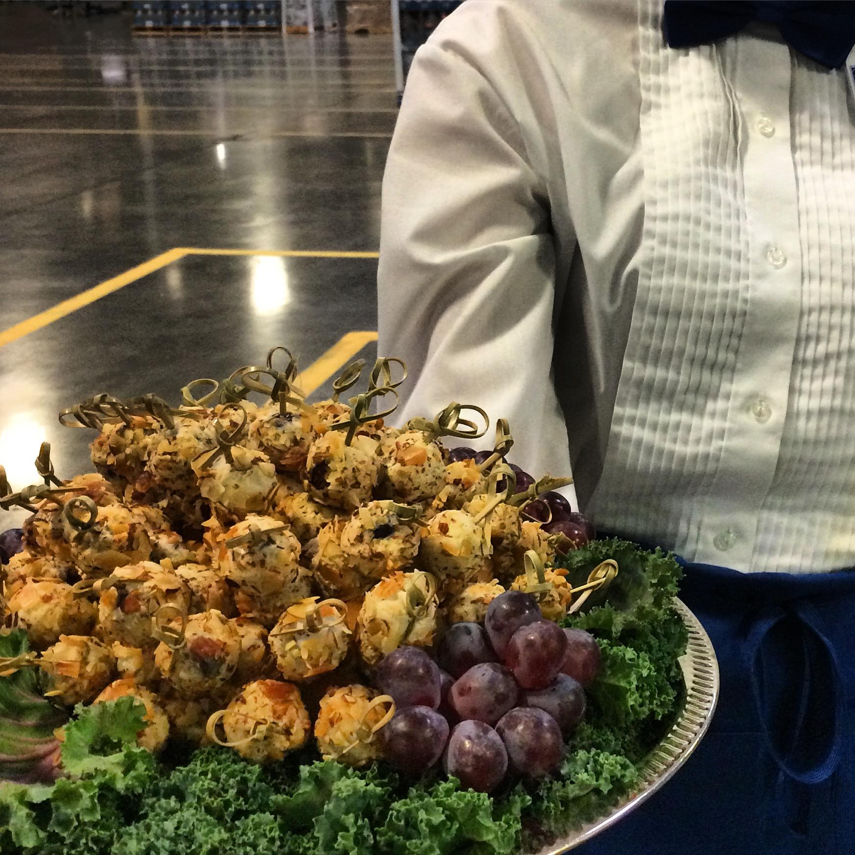 Grape Truffle Skewers