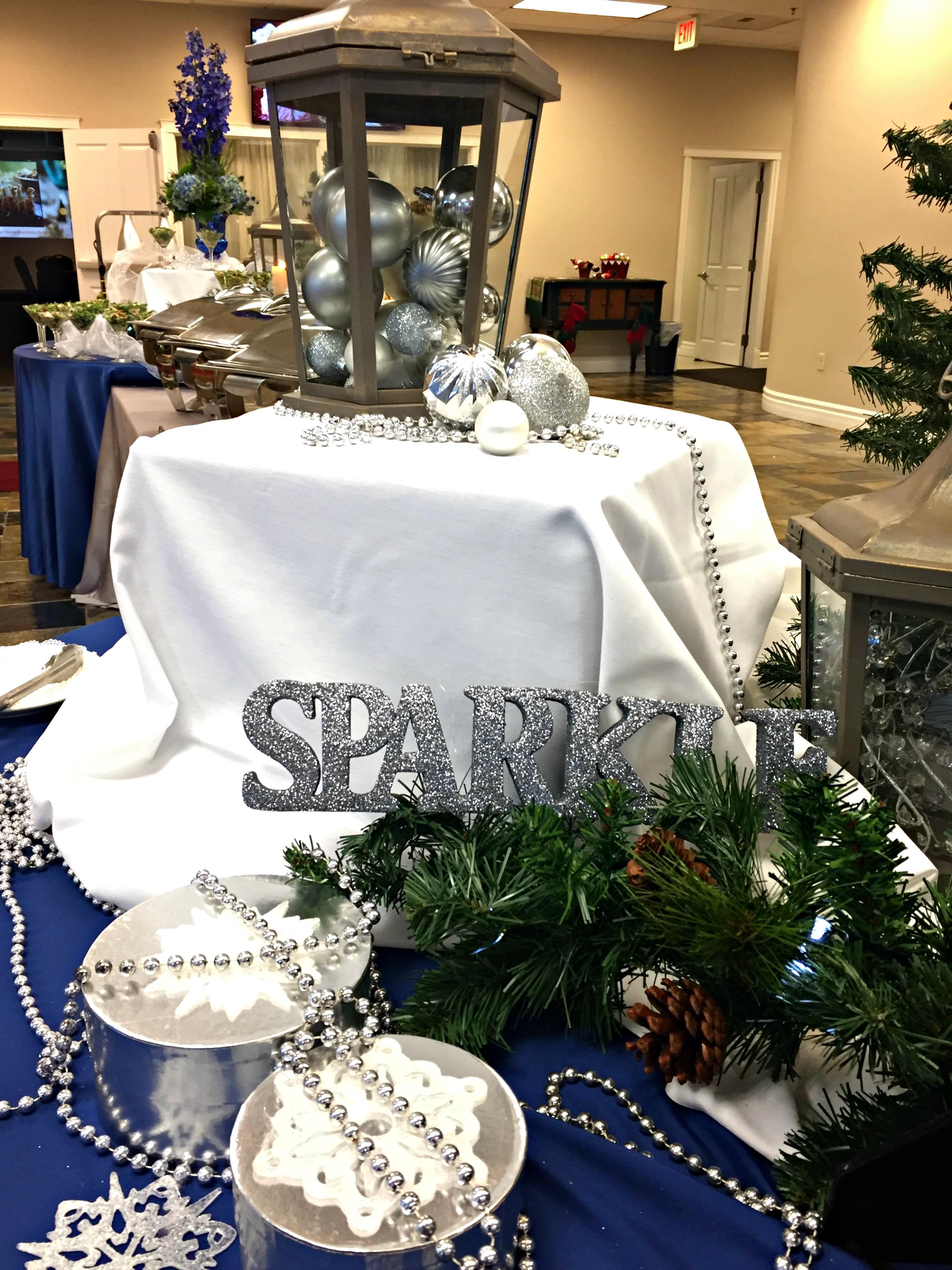 Holiday Table Display