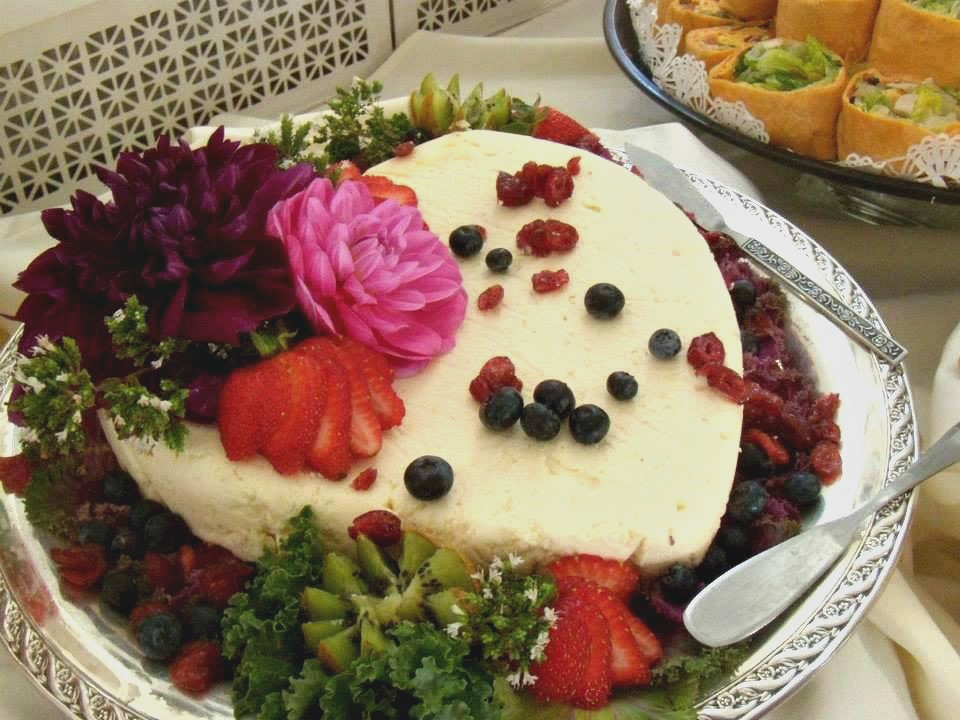Heart Shaped Cheese Torta