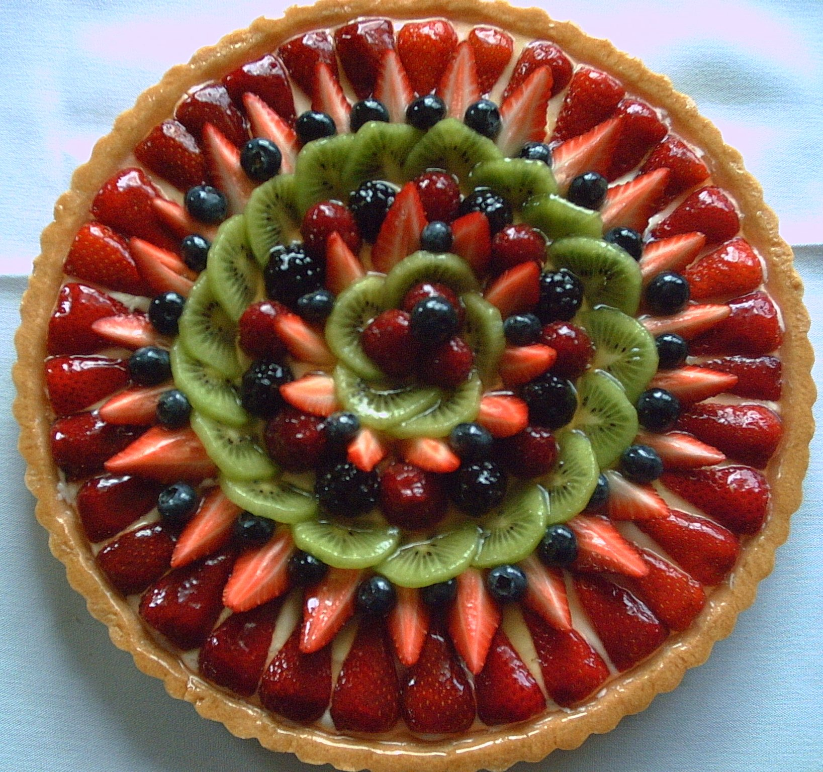 Jumbo Fruit Tart