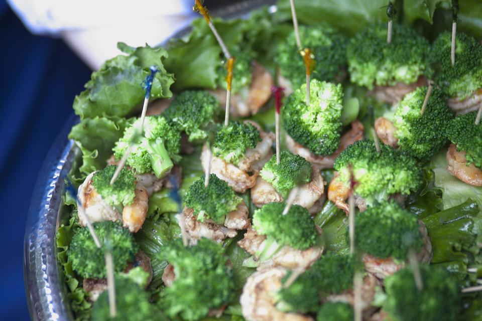 Broccoli Shrimp Bites
