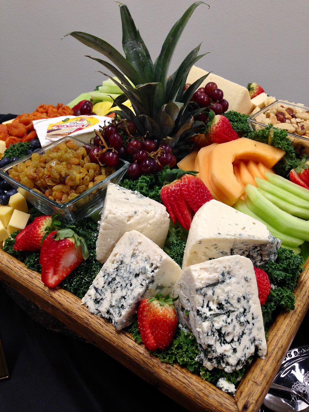Winter Fruit & Imported Cheese Tray
