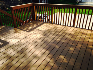 Deck Painting and Repair