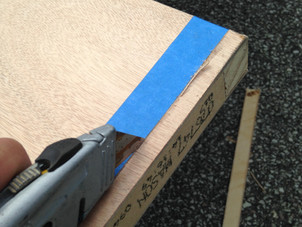 How To Cut Down A Hollow Core Slab Door