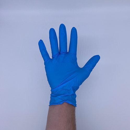 Nitrile Powder Free Gloves, Blue, 3 - 100ct Boxes