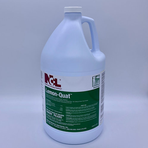 Lemon - Quaternary Disinfectant Concentrate (Mix 4oz to 1 gal water)