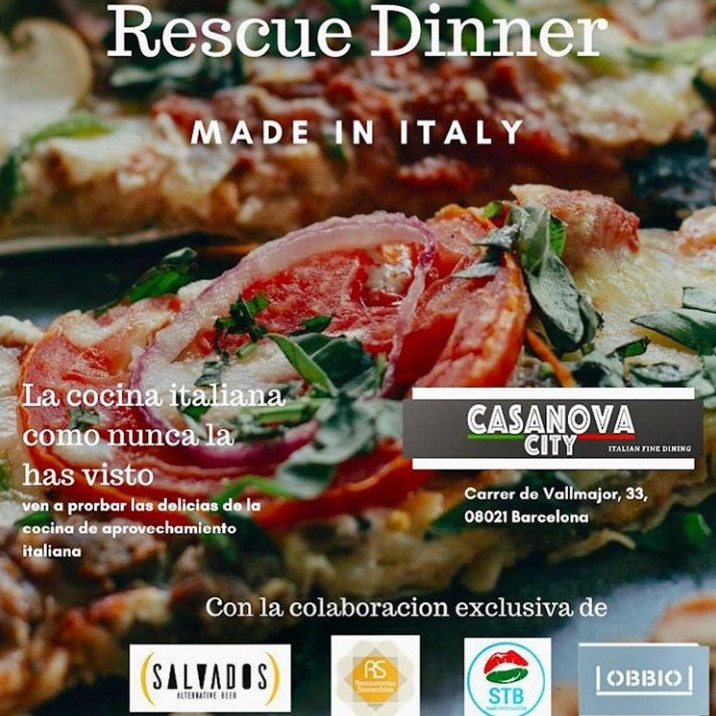 Rescue Dinner - Made in Italy!