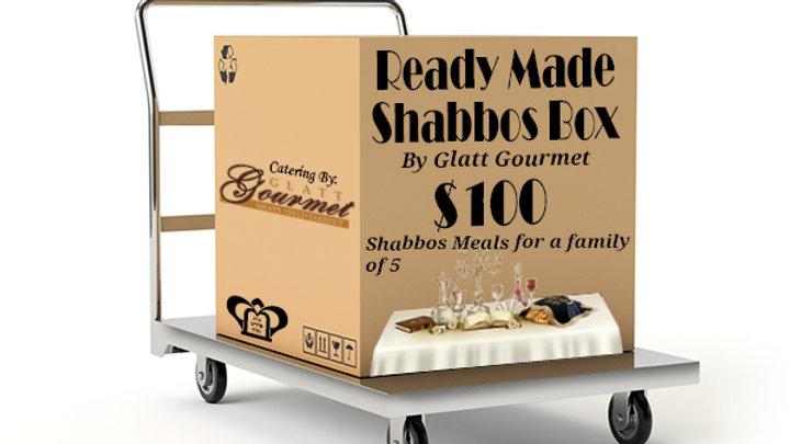 Ready Made Shabbos Box by Glatt Gourmet