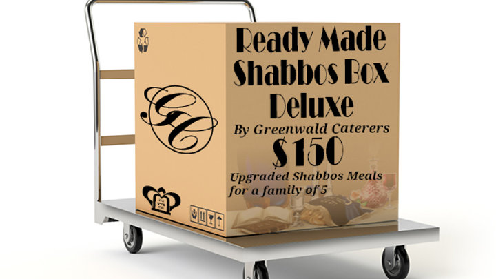Ready Made Shabbos Box Deluxe by Greenwald