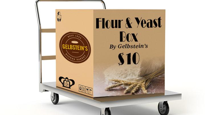 Flour & Yeast Box by Gelbstein