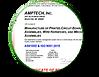Amptech's AS9100D ISO9001 Cert.