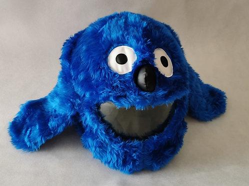 Plüschi Hund blau
