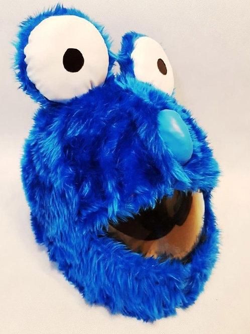 Plüschi Big Eyes blue