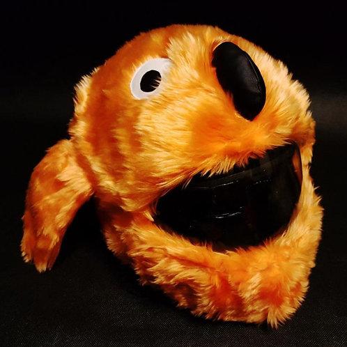 Plüsch Hund orange