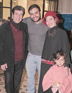 Marcelo Ayres e Renata Franco