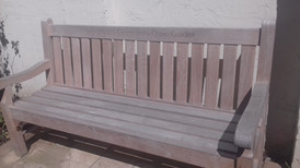 A quiet seat in the sunshine
